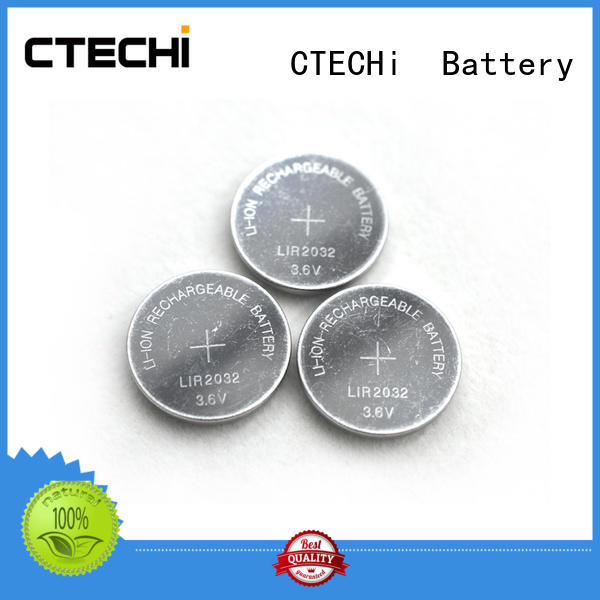 CTECHi small rechargeable button batteries design for household