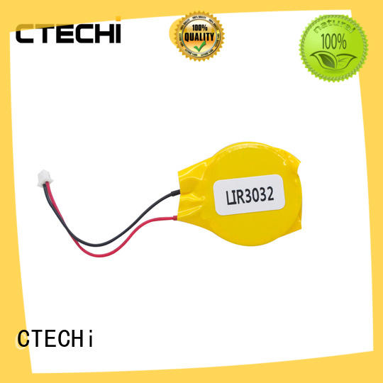 CTECHi digital rechargeable coin cell battery wholesale for car key