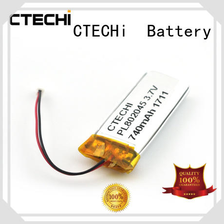CTECHi lithium polymer battery series for electronics device