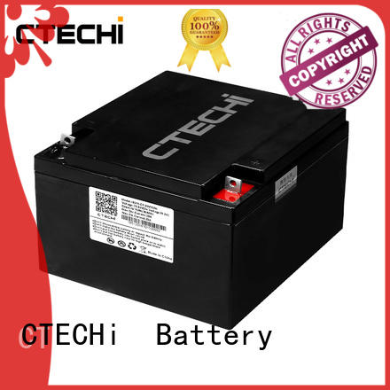 CTECHi durable lifepo4 lithium battery 12v100ah for travel