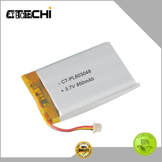 High power lithium polymer battery PL603048 3.7V