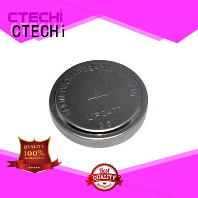 CTECHi rechargeable coin cell battery design for calculator