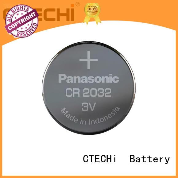 CTECHi panasonic lithium batteries customized for flashlight