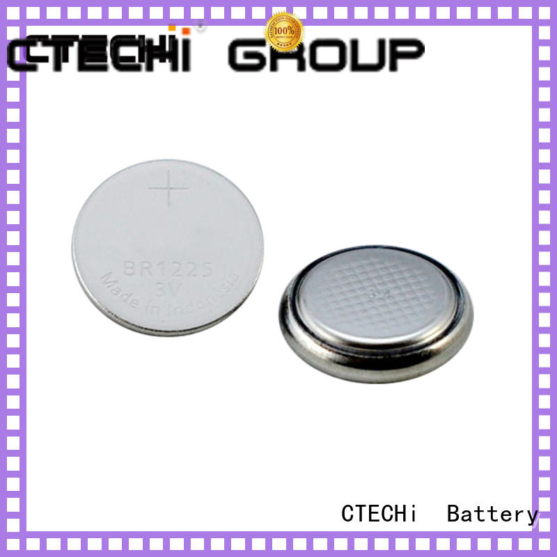High temperature button primary lithium battery BR1225