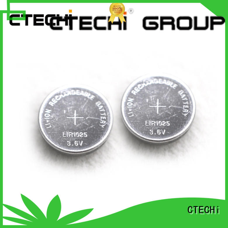 electronic rechargeable button cell batteries design for calculator