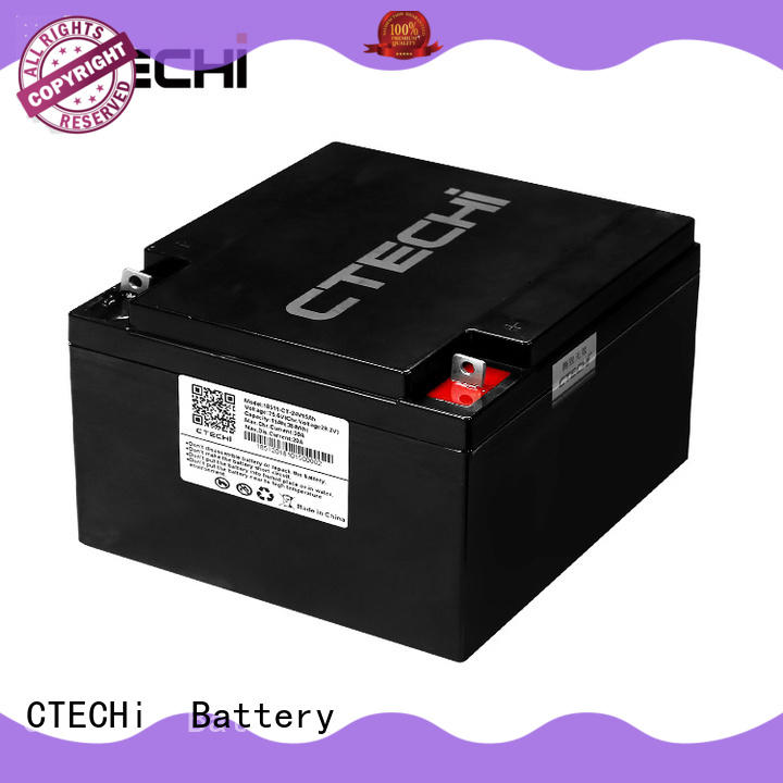 portable lifepo4 lithium battery supplier for golf car CTECHi