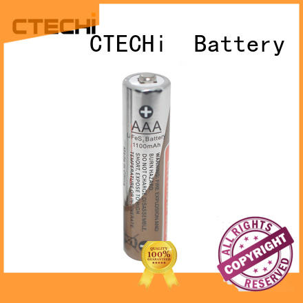 CTECHi primary 1.5v li-fes2 battery high capacity for cameras