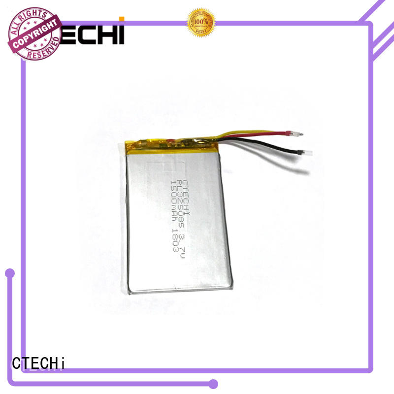 polymer battery supplier for electronics device CTECHi
