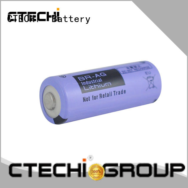 heat resistance primary lithium ion battery BRC for cameras CTECHi