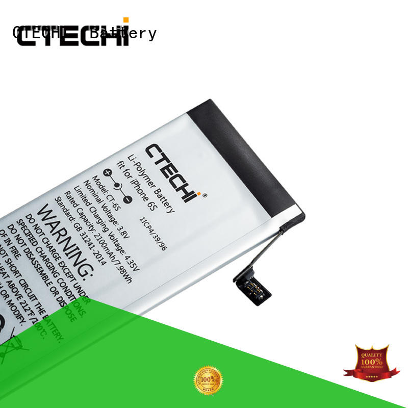 CTECHi iPhone battery factory for store