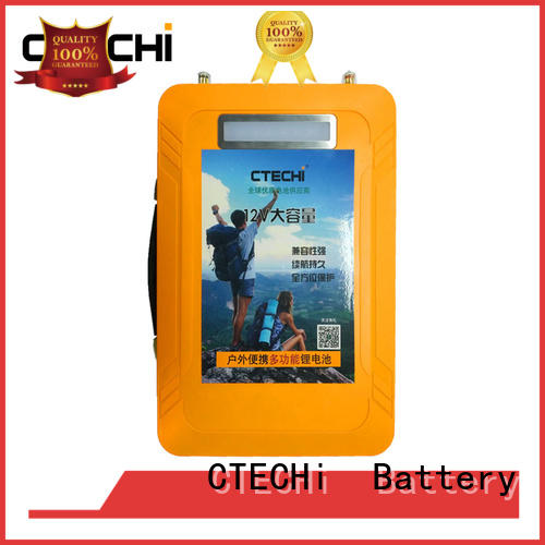 CTECHi durable lifepo4 battery india customized for travel