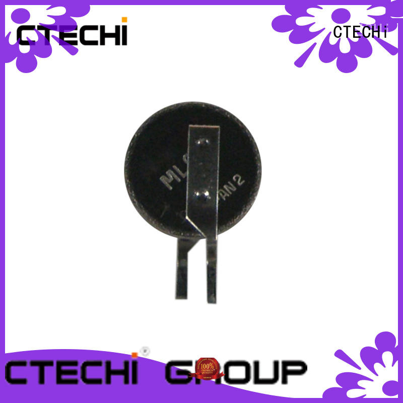 rechargeable button battery design for calculator CTECHi