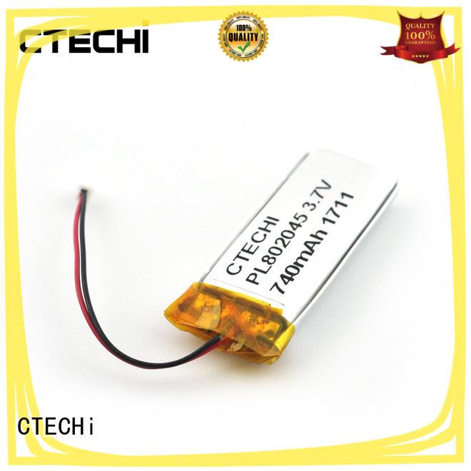 CTECHi 37v lithium polymer battery 12v customized for smartphone