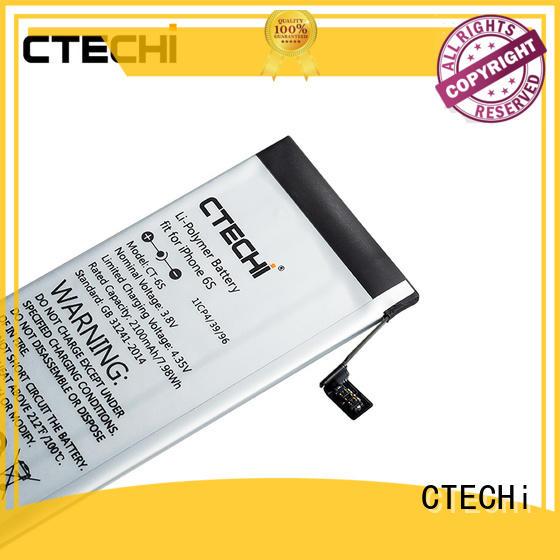 iPhone battery wholesale for repair CTECHi