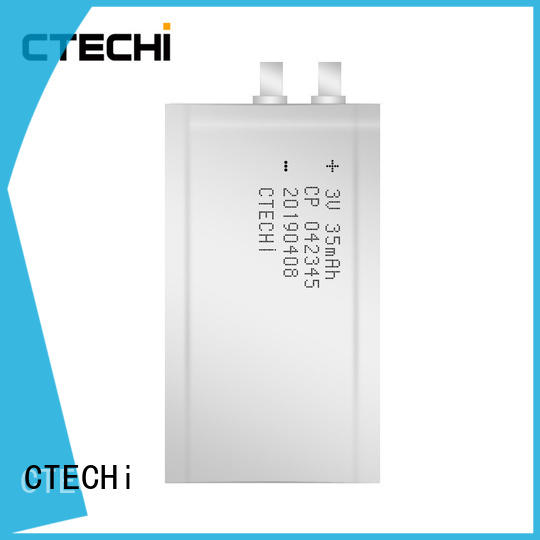 CTECHi quality micro-thin battery manufacturer for manufacture