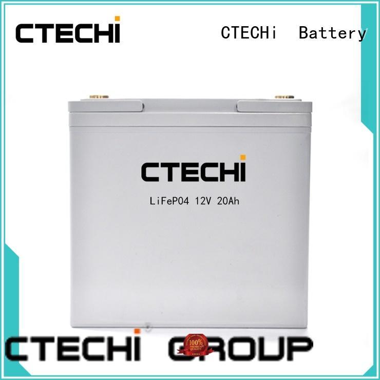 40ah lifepo4 battery series for golf car CTECHi