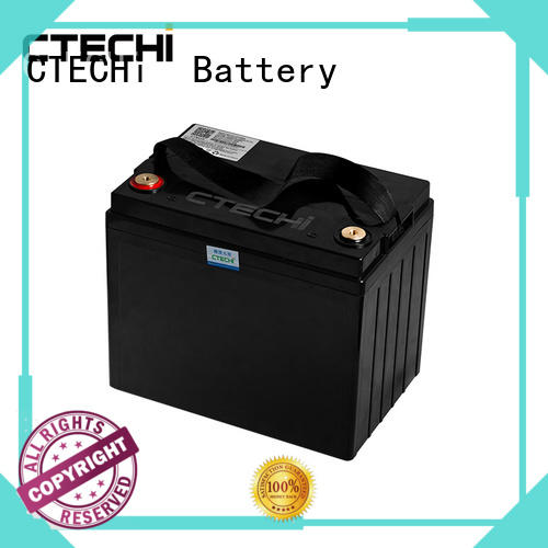 CTECHi portable lifepo4 lithium battery customized for travel
