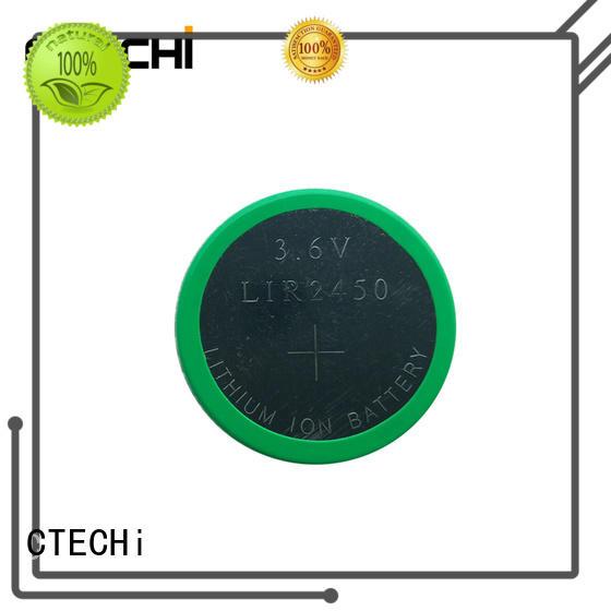 CTECHi rechargeable button batteries design for car key