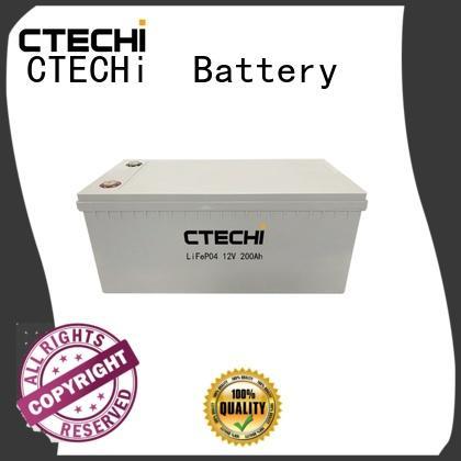 CTECHi lifepo4 battery uk customized for golf car
