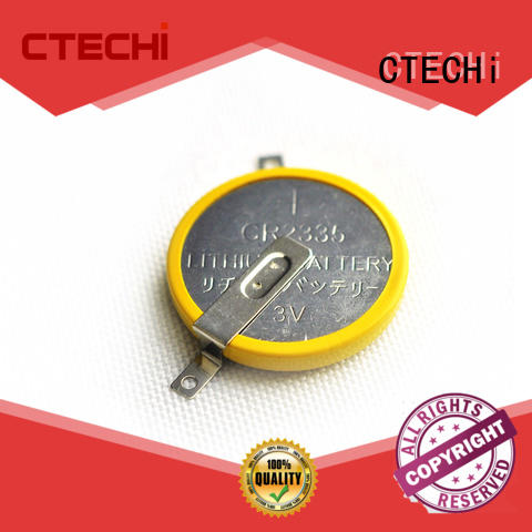 electric coin button battery customized for watch CTECHi