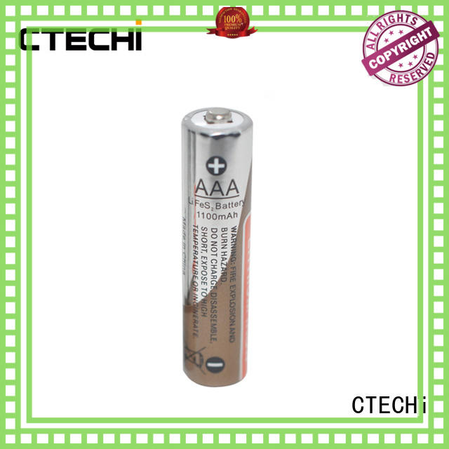 long-lasting lithium ion aa battery supplier for cameras CTECHi