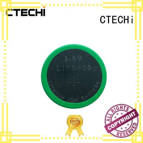 rechargeable button batteries capacity for calculator CTECHi