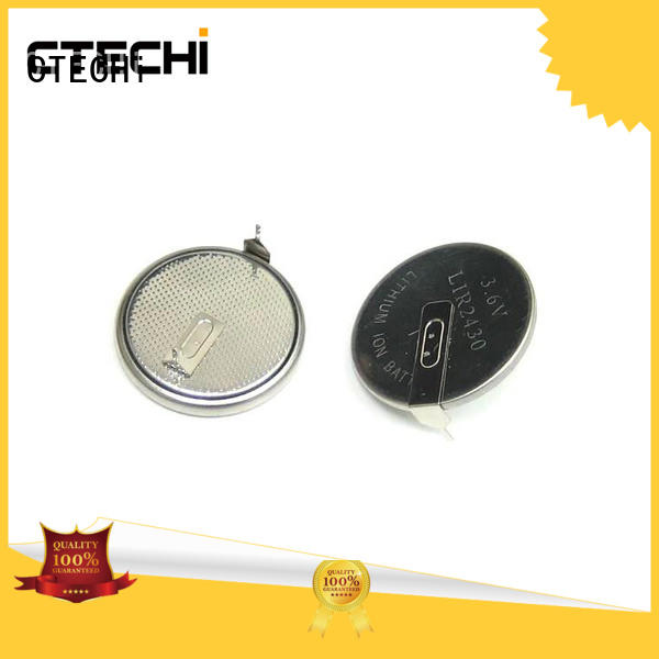 lithium button cell batteries rechargeable 36v for car key CTECHi