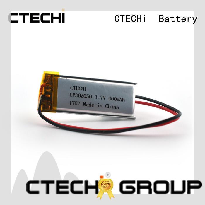 ion li-polymer battery life for electronics device CTECHi