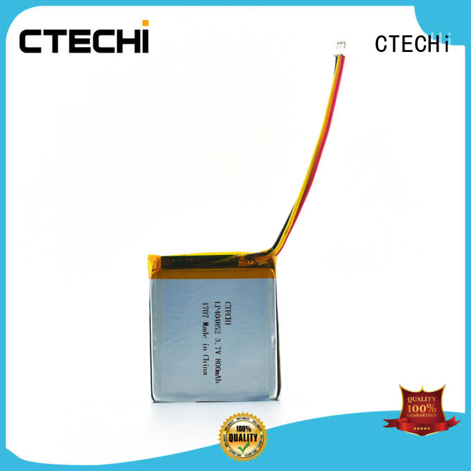 Lithium ion soft pack battery PL404852