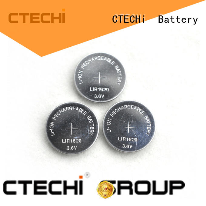 CTECHi electronic rechargeable cell battery factory for calculator