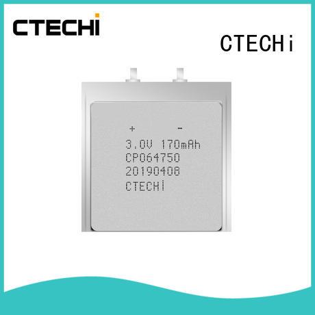 35mah ultra slim battery battery for factory CTECHi