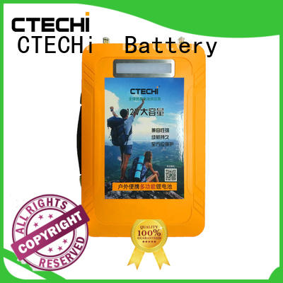 CTECHi small batterie lifepo4 9ah for travel