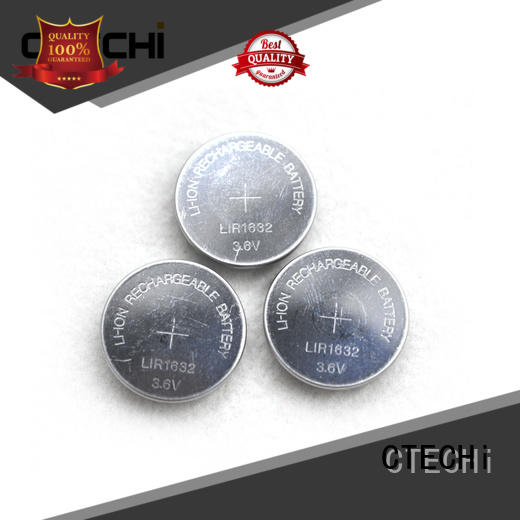CTECHi electronic rechargeable button cell factory for car key