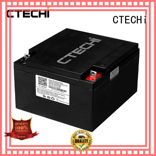 CTECHi lifepo4 battery charger supplier for travel