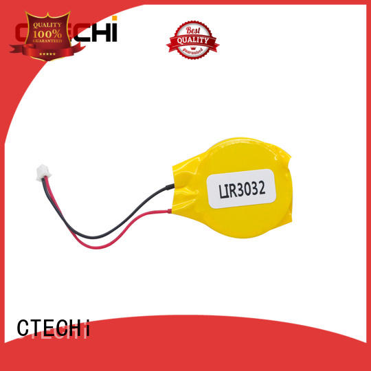 CTECHi digital rechargeable coin cell wholesale for calculator