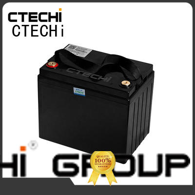 CTECHi 12v lifepo4 battery charger supplier for golf car