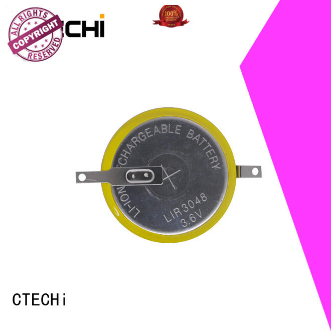 CTECHi rechargeable button battery wholesale for calculator