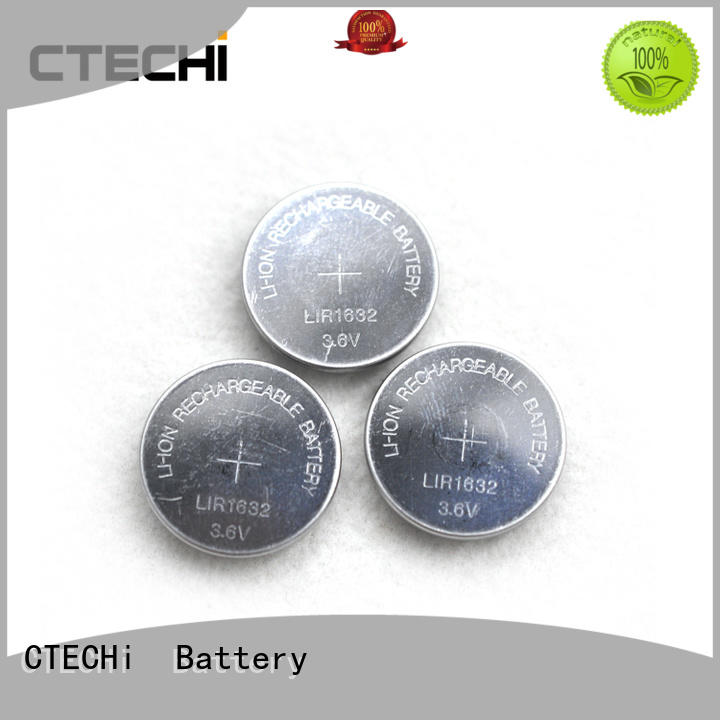 CTECHi electronic rechargeable cell battery design for calculator