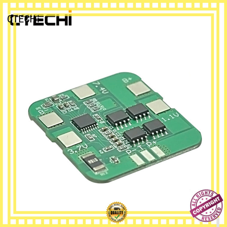 CTECHi anti-overcharging bms battery management system supplier for factory