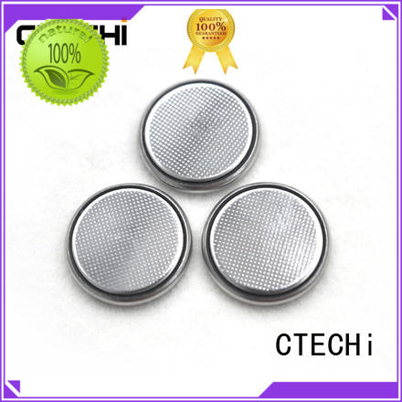 CTECHi rechargeable coin batteries design for household