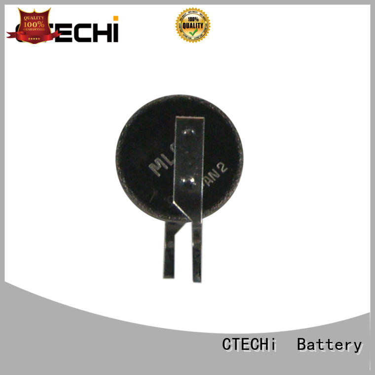 rechargeable button battery capacity for watch CTECHi