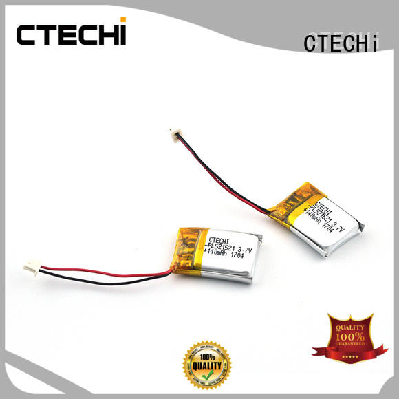 CTECHi polymer battery series for electronics device