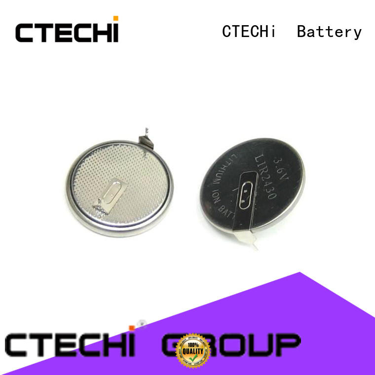rechargeable coin cell button for watch CTECHi