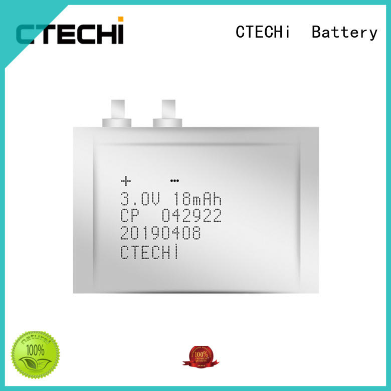 CTECHi practical micro-thin battery manufacturer for industry