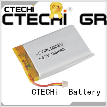 CTECHi lithium polymer battery supplier for