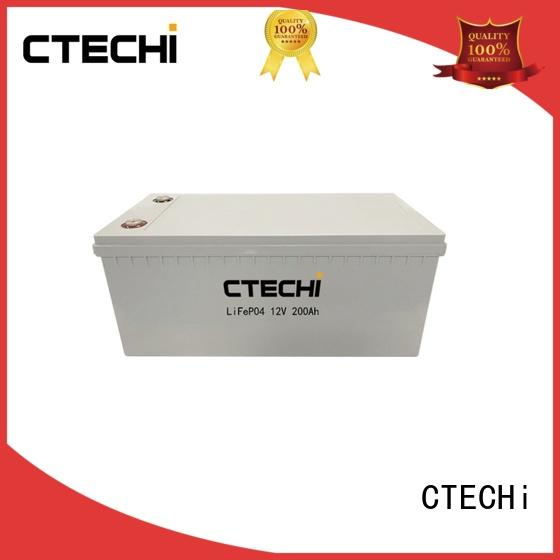 compact lifepo4 battery 40ah for RV CTECHi