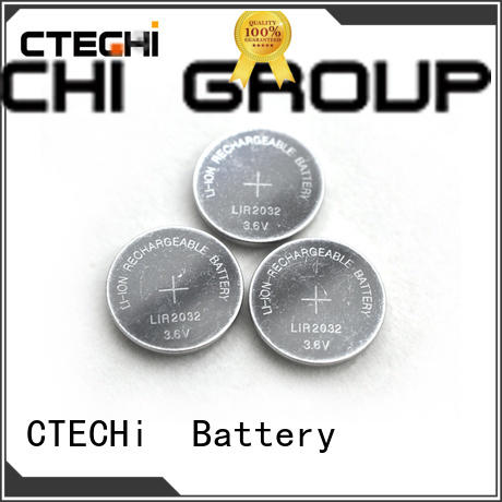 digital rechargeable button battery manufacturer for car key