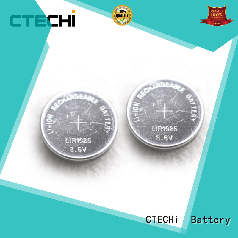 high performance rechargeable lithium battery LIR1025