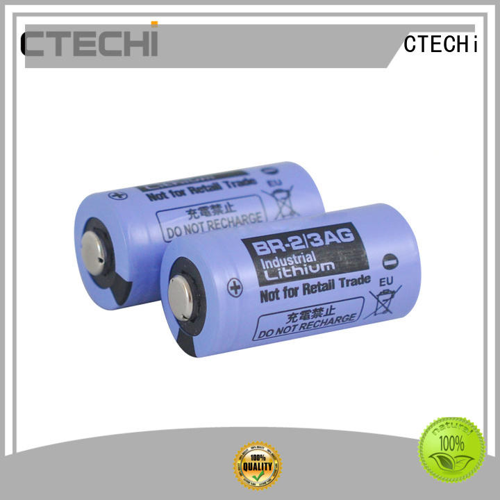 High capacity primary lithium BR battery BR-2/3AG