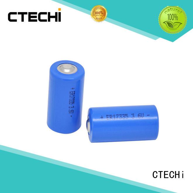High capacity water meter primary lithium battery ER17335